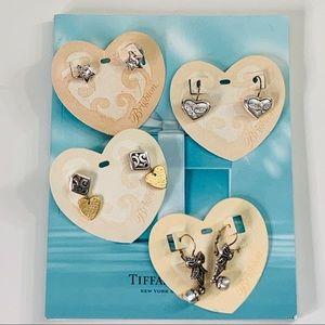 BRIGHTON Earrings bundle 4 pairs silver gold vtg